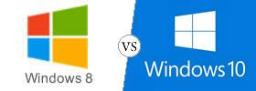 Windows 8 vs Windows 10