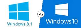 Windows 8.1 vs Windows 10