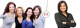 Women vs Woman