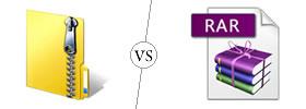 ZIP vs RAR