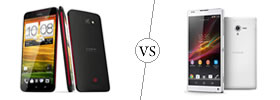 HTC Butterfly vs Sony Xperia ZL