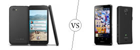 HTC First vs Sony Xperia T