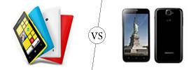 Nokia Lumia 520 vs Karbonn Titanium S5