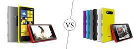 Nokia Lumia 920 vs Nokia Lumia 820