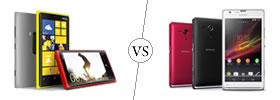 Nokia Lumia 920 vs Sony Xperia SP