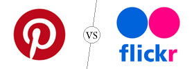 Pinterest vs Flickr