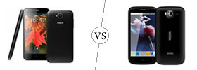 XOLO Q800 vs Intex Aqua Wonder 2