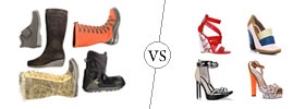 Boots vs Shoes