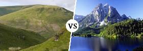 Hill vs Mountain