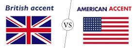American Accent vs British Accent