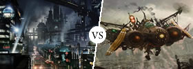 Cyberpunk vs Steampunk