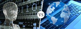 Cyberspace vs Internet