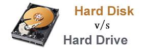 Hard Disk vs Hard Drive
