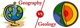 Geography vs Geology