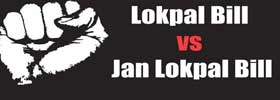 Lokpal Bill vs Jan Lokpal Bill