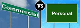Commercial vs Personal Licenses