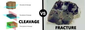 Cleavage vs Fracture