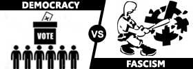 Democracy vs Fascism