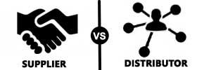 Supplier vs Distributor