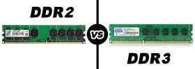 DDR2 vs DDR3 RAM
