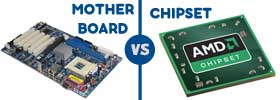 Mother Board vs Chipset