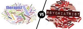 Therapist vs Psychiatrist
