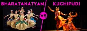 Bharatanatyam vs Kuchipudi Dance
