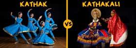 Kathak vs Kathakali Dance