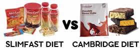 Slim Fast vs Cambridge Diet