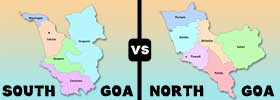 South Goa vs North Goa