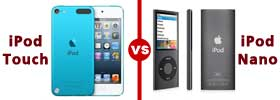 iPod Touch vs iPod Nano