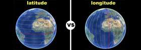 Longitude vs Latitude
