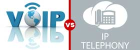 VoIP vs IP Telephony