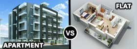 Apartment vs Flat