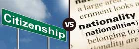 Citizenship vs Nationality