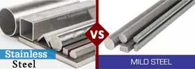 Stainless Steel vs Mild Steel