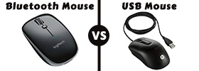 USB Mouse vs Bluetooth Mouse