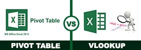 Pivot Table vs Vlookup