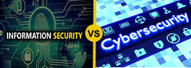 Cyber Security vs Information Security