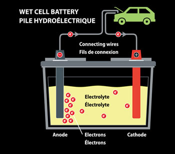 Difference Between Wet Cell And Dry Cell Battery Wet